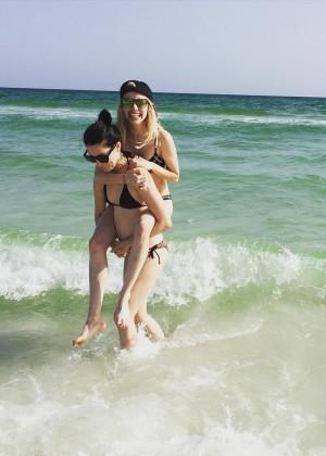 Emma Roberts in Bikini - Instagram