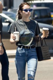 Emma Roberts - In jeans out in Los Angeles