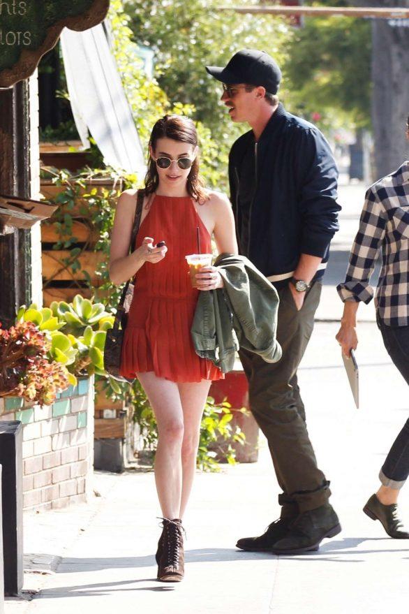 Emma Roberts 2019 : Emma Roberts in Short Dress-16