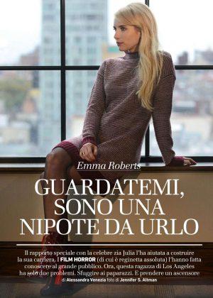 Emma Roberts - Io Donna del Corriere della Sera (November 2016)