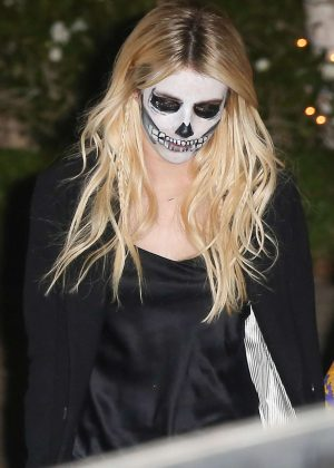Emma Roberts - Kate Hudson's Halloween Party in Pacific Palisades