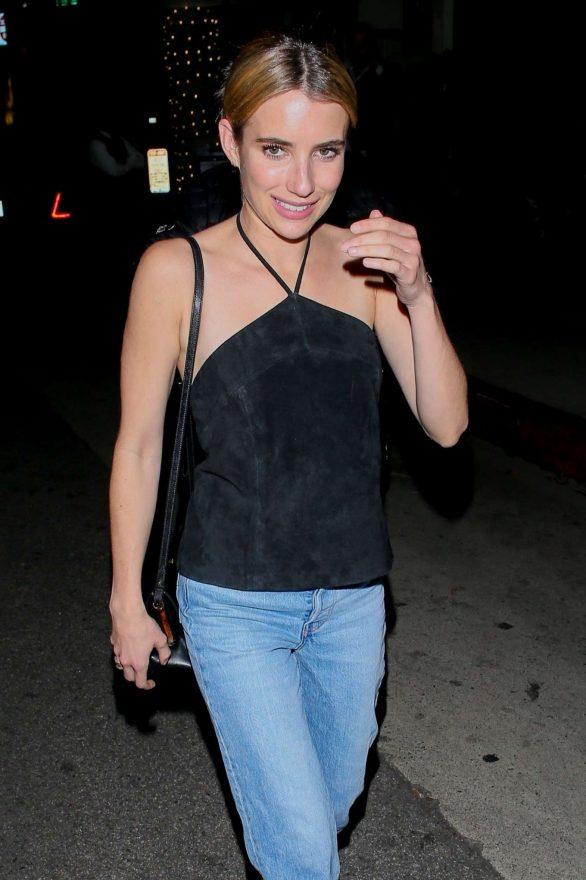 Emma Roberts - Leaves Madeo in Beverly Hills