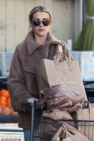 Emma Roberts - Leaving a Supermarket in Hollywood