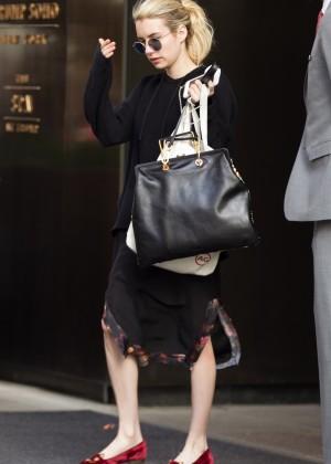 Emma Roberts - Leaving her Hotel in Manhattan