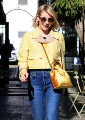Emma Roberts - Leaving Nine Zero One in West Hollywood