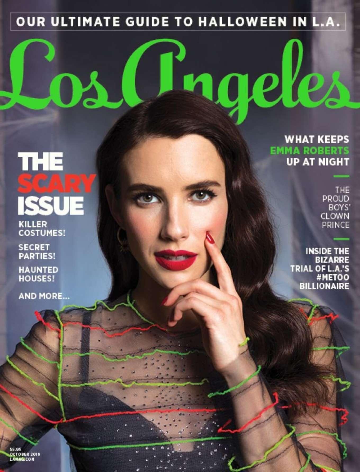 Emma Roberts - Los Angeles Magazine (October 2019)