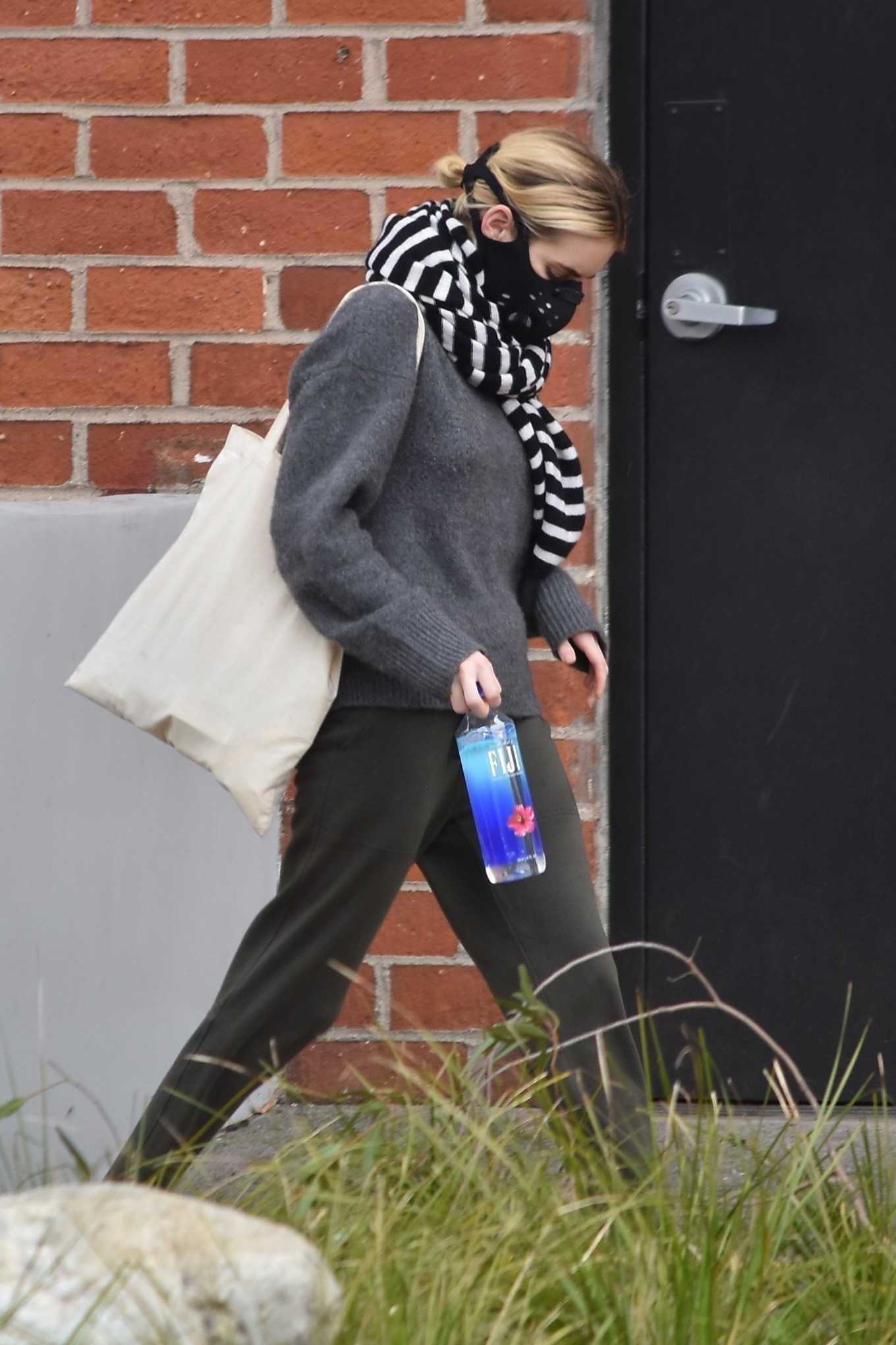 Emma Roberts 2020 : Emma Roberts makes a trip to a Medical Center-13