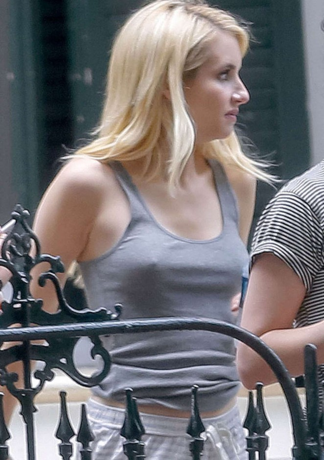 Emma Roberts on 'Scream Queens' set in New Orleans