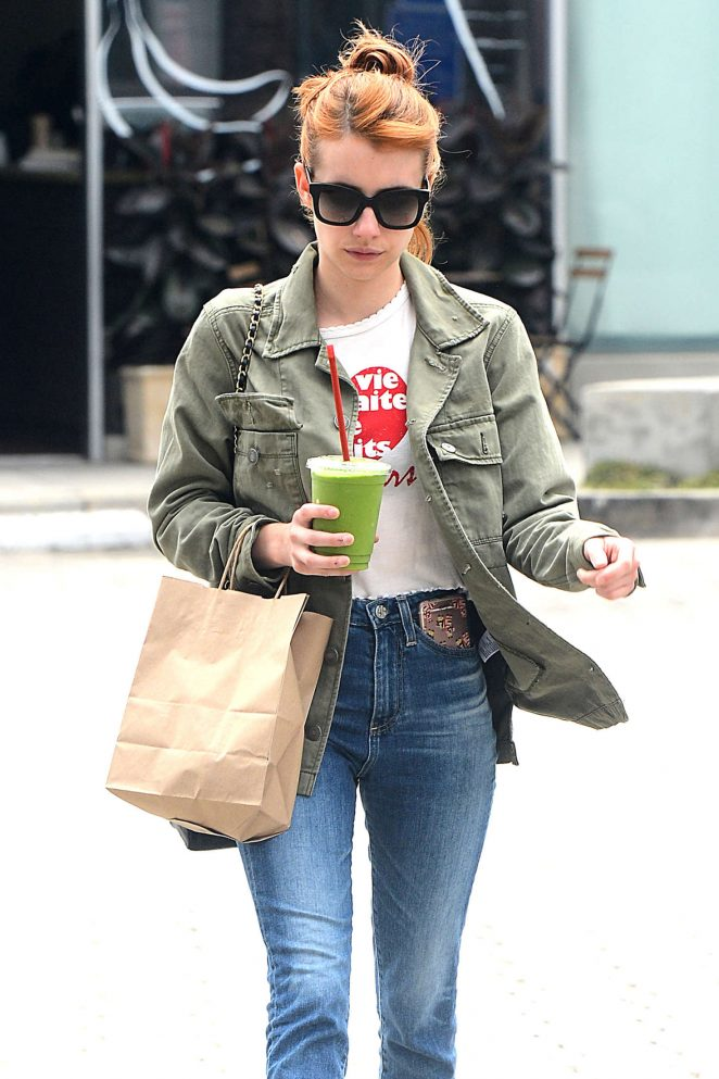 Emma Roberts - Out and About in Beverly Hills