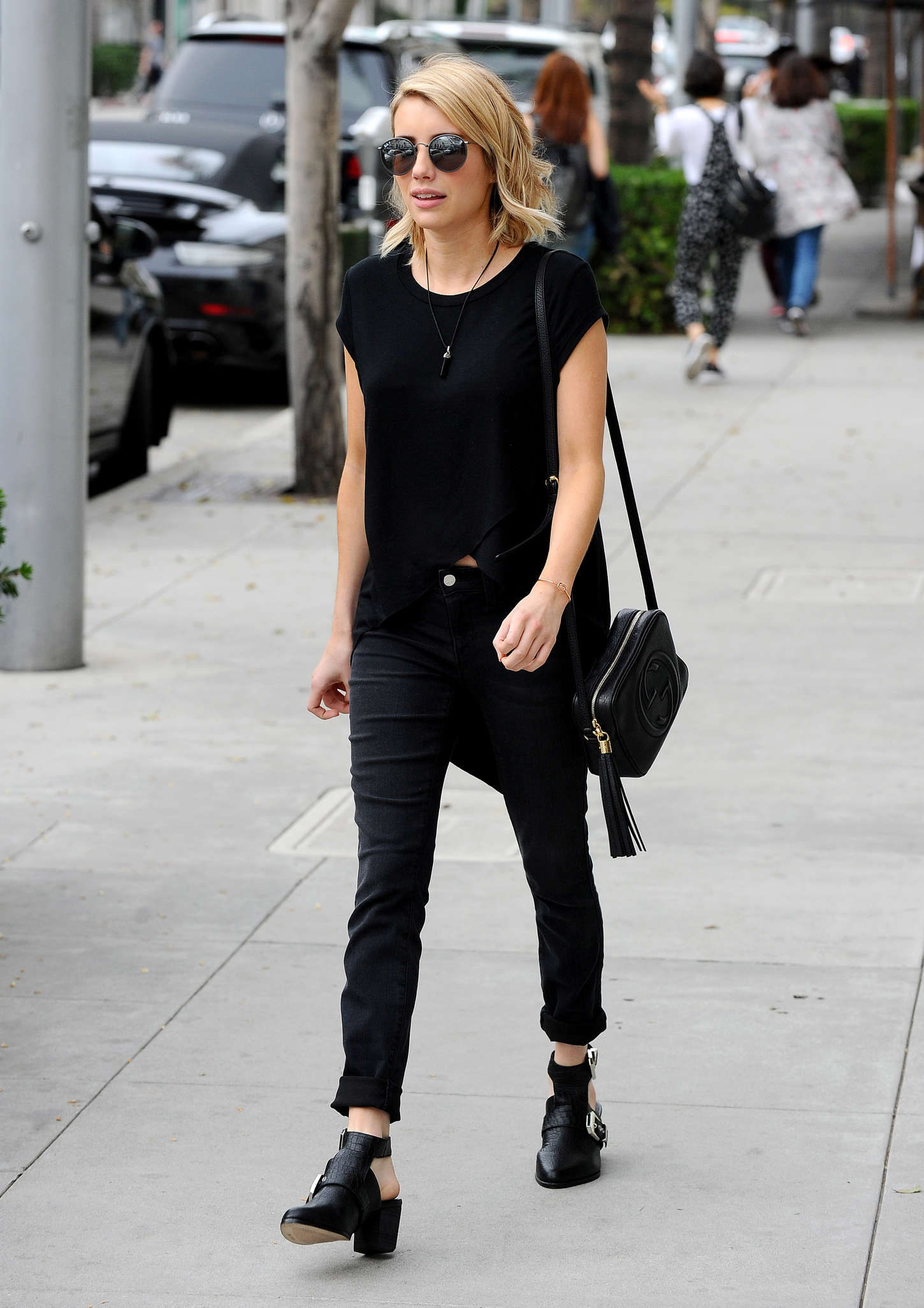 Emma Roberts 2015 : Emma Roberts in Black -03