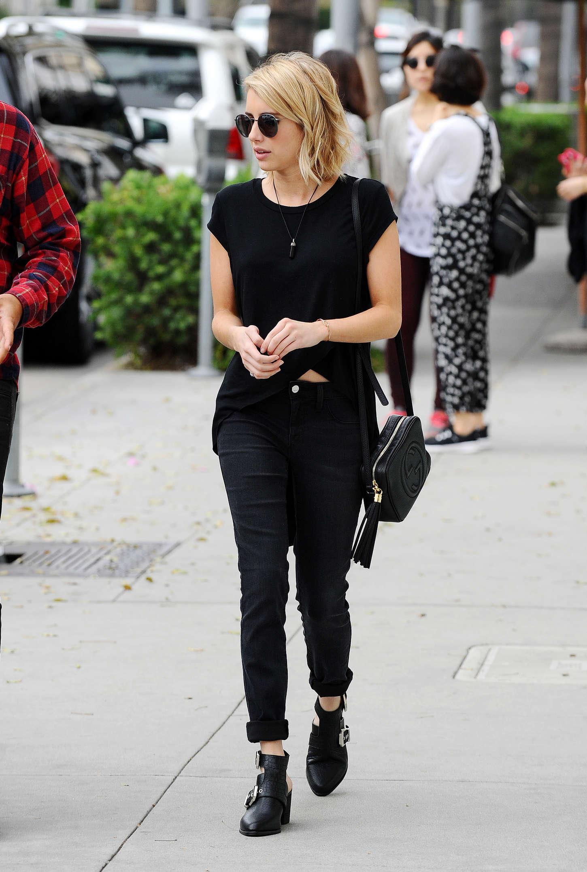 Emma Roberts 2015 : Emma Roberts in Black -15