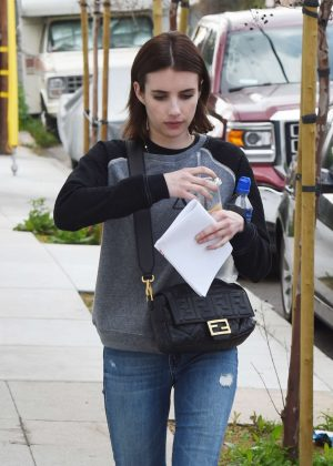 Emma Roberts - Out and about in Los Angeles