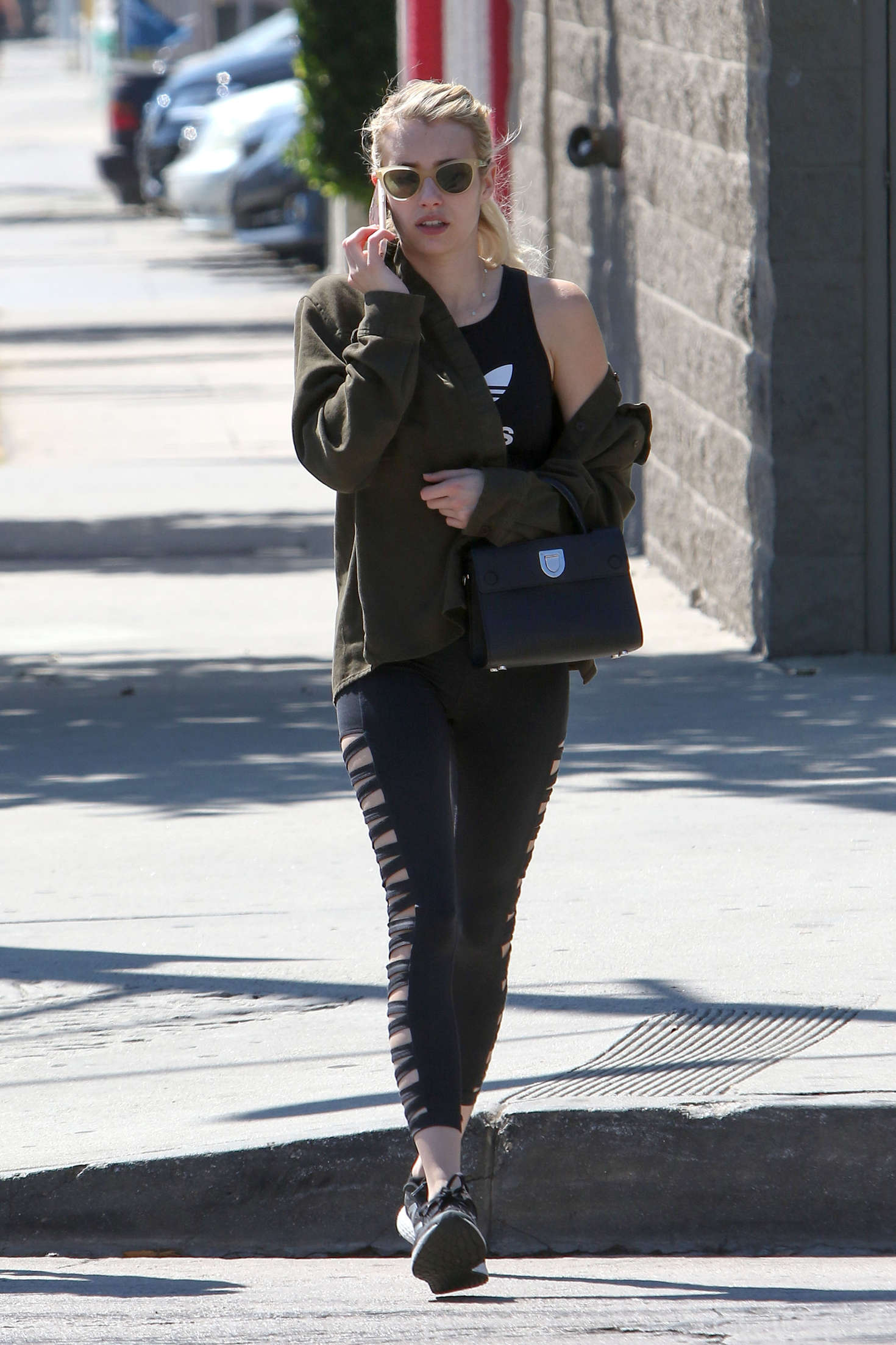 Emma Roberts - Out And About in West Hollywood