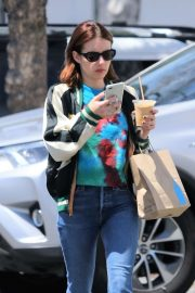 Emma Roberts - Out for a coffee in LA