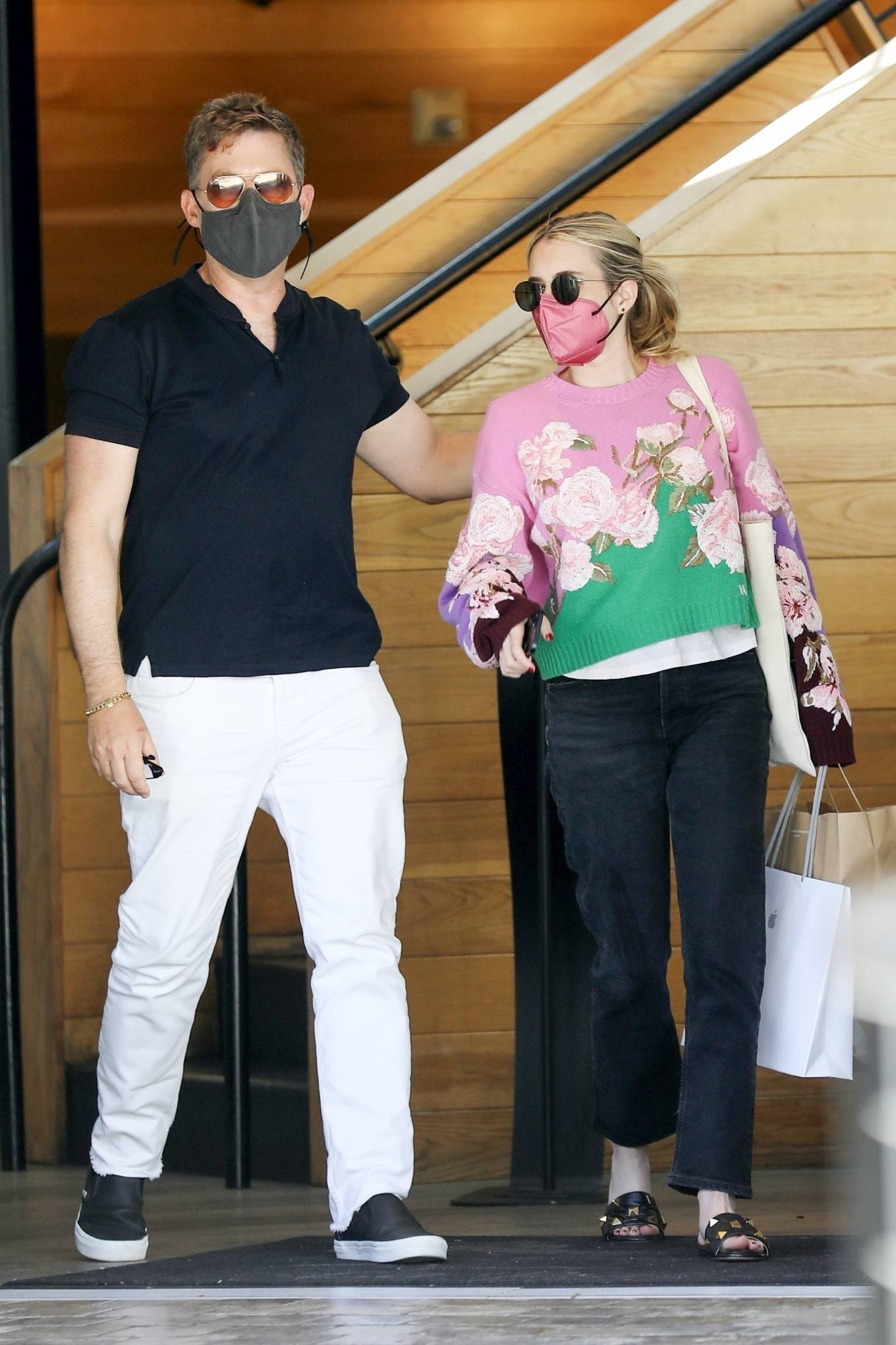 Emma Roberts 2021 : Emma Roberts – Out for a lunch at La Piazza restaurantin Los Angeles-08