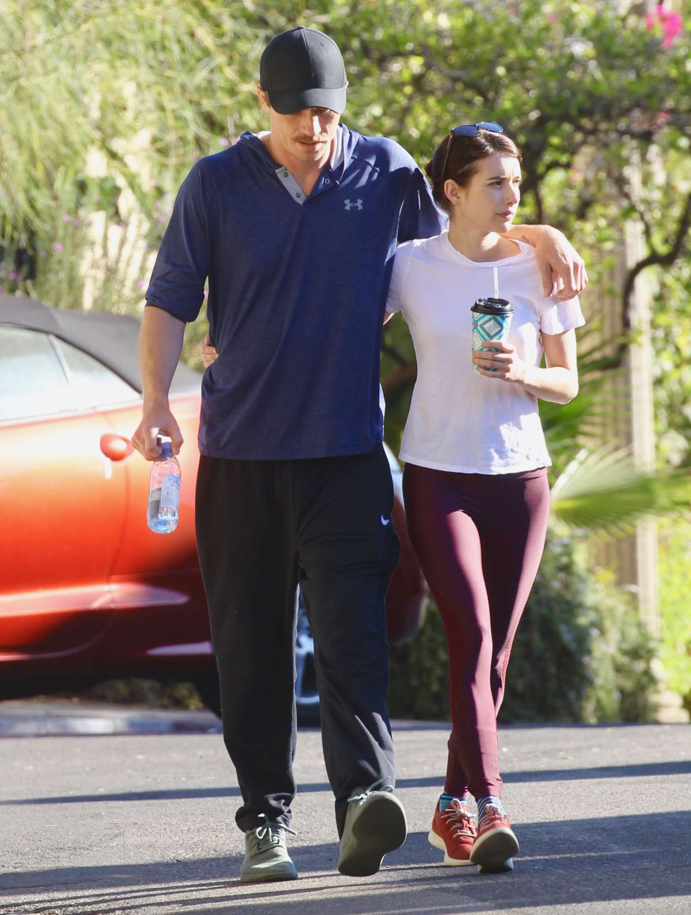 Emma Roberts - Out for a morning hike in LA