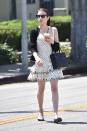 Emma Roberts - Out for lunch in Los Feliz