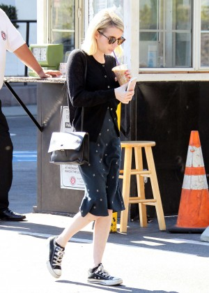 Emma Roberts Out for lunch in West Hollywood