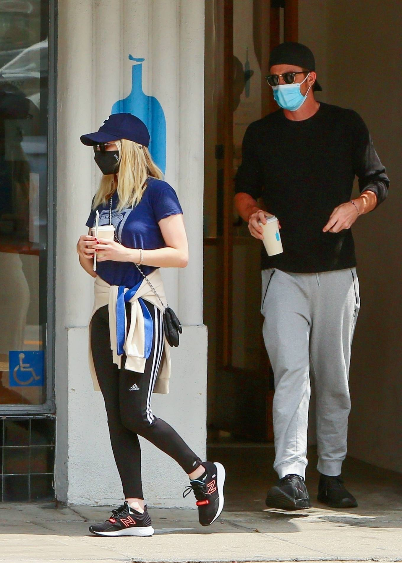 Emma Roberts 2021 : Emma Roberts – Out for some coffee in Los Feliz-13