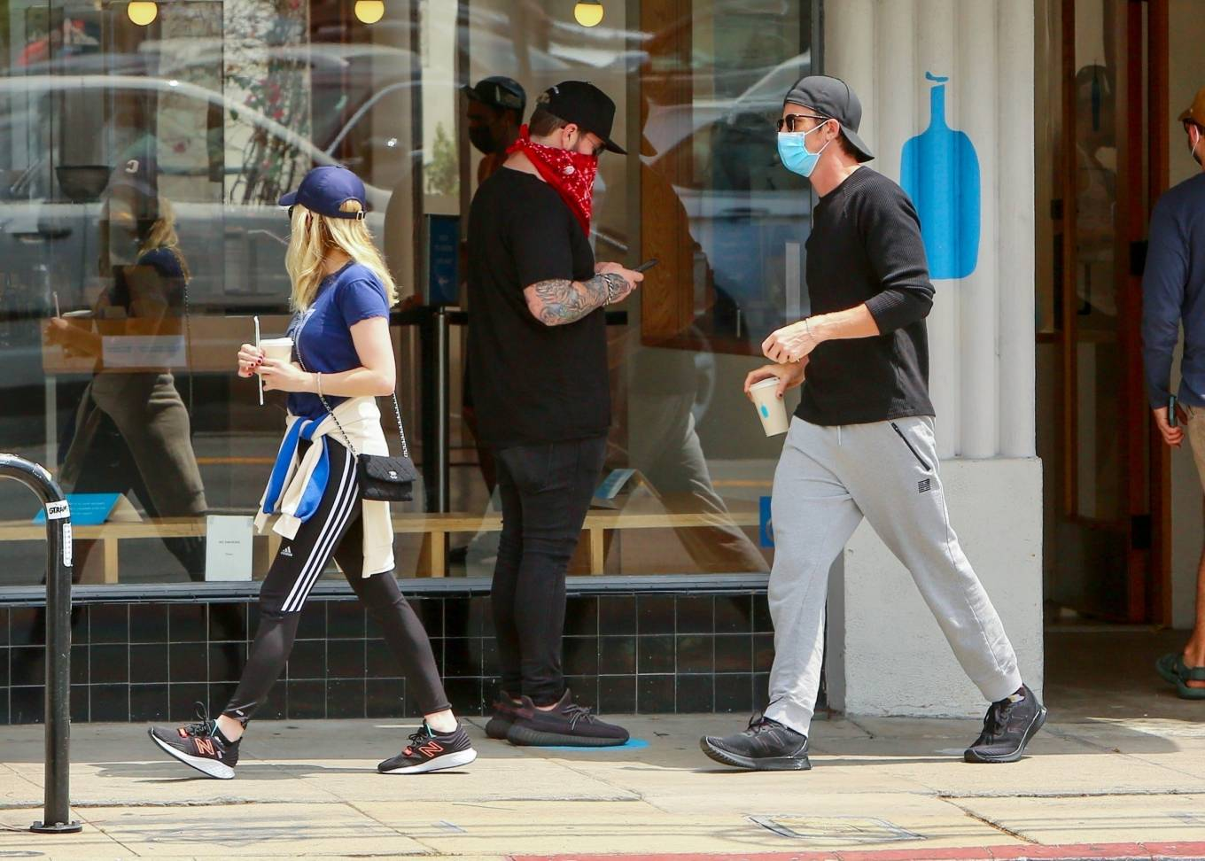 Emma Roberts 2021 : Emma Roberts – Out for some coffee in Los Feliz-14