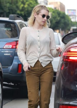 Emma Roberts - Out in Hollywood