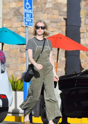 Emma Roberts - Out in Los Angeles