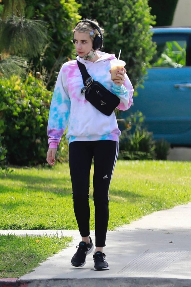 Emma Roberts - Out in Los Feliz