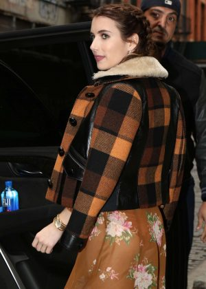 Emma Roberts out in Manhattan