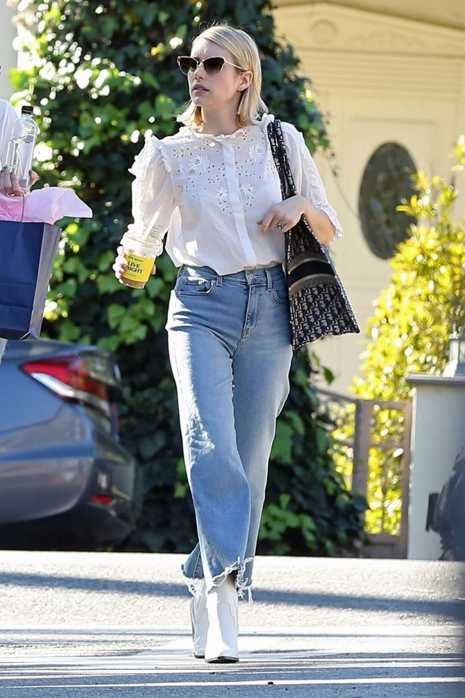 Emma Roberts – Out in West Hollywood