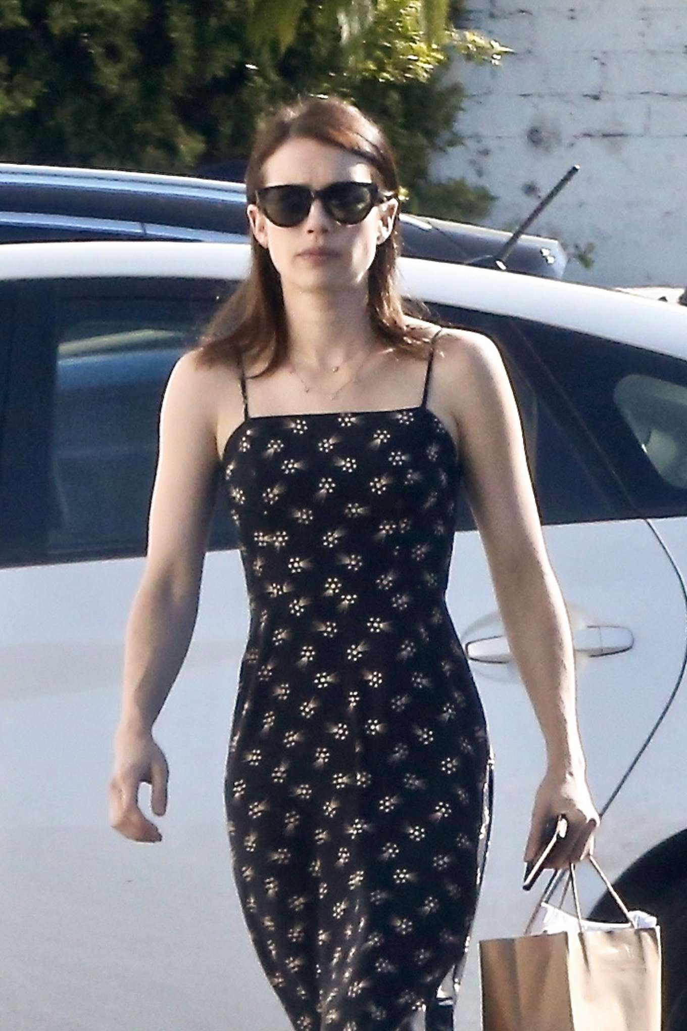 Emma Roberts - Out to grab lunch in Los Feliz
