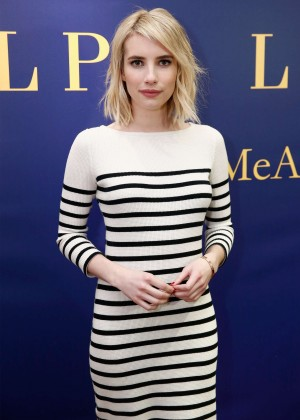 Emma Roberts - Polo Ralph Lauren Fashion Show 2016 in NY