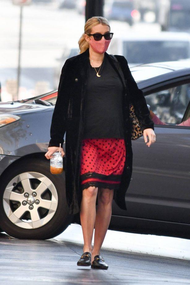 Emma Roberts - Running errands in Beverly Hills