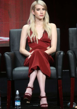 Emma Roberts - 'Scream Queens' Panel 2015 Summer TCA Tour in Beverly Hills