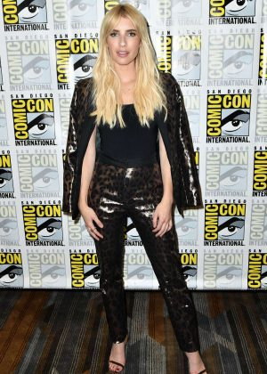 Emma Roberts - 'Scream Queens' Press Line at Comic-Con International in San Diego