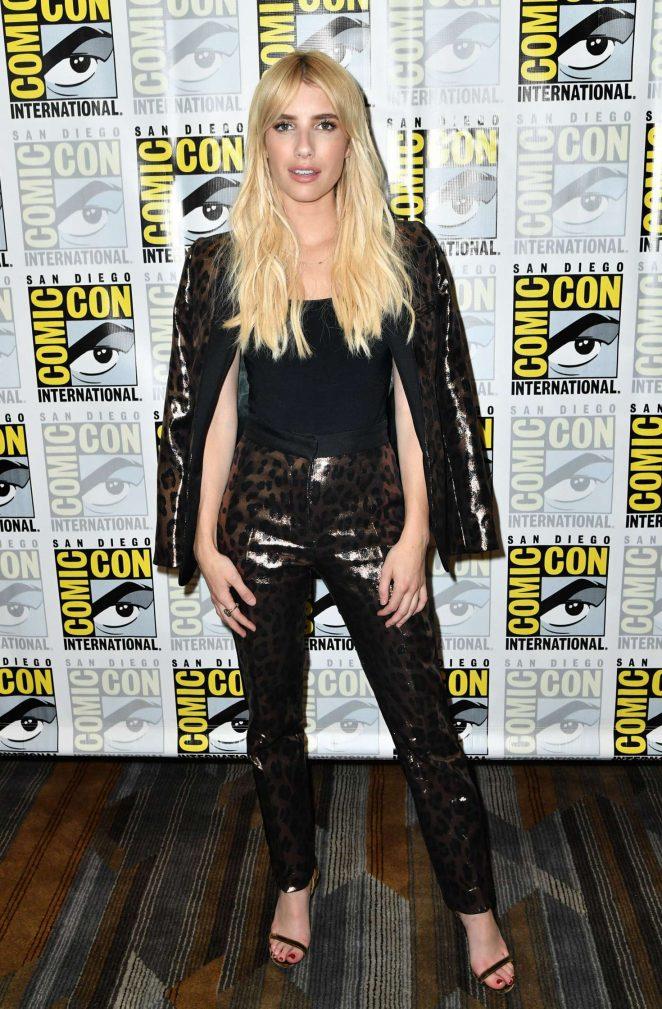 Emma Roberts - 'Scream Queens' Press Line at Comic-Con International in San Diego