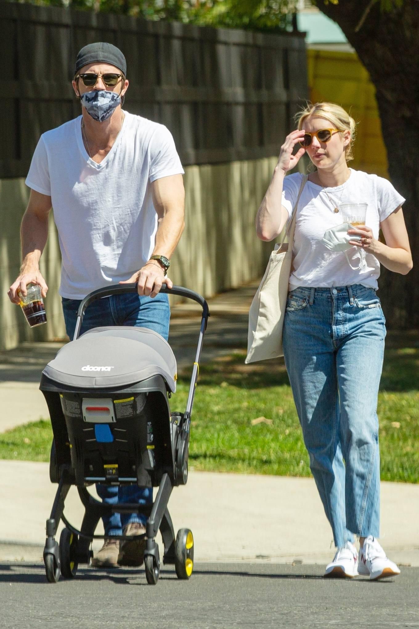 Emma Roberts 2021 : Emma Roberts – Seen at a Coffee Shop in Hollywood-04