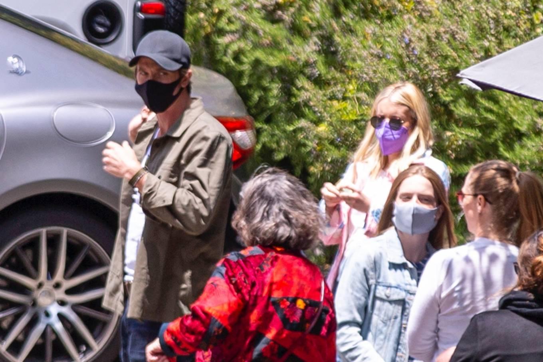 Emma Roberts 2021 : Emma Roberts – Seen at Saddle Peak Lodge Restaurant in Calabasas-13