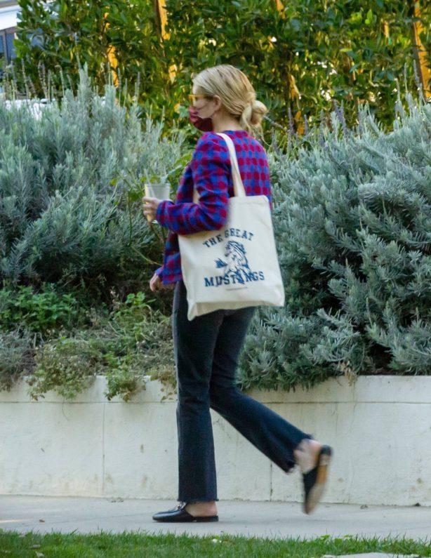 Emma Roberts - Seen in Los Angeles
