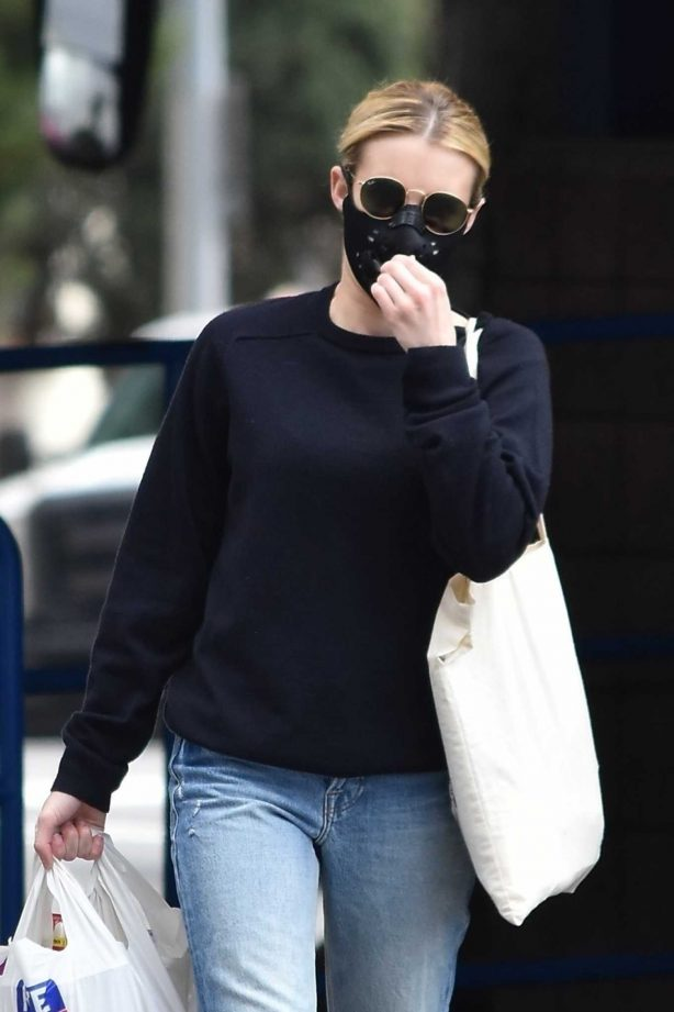Emma Roberts - Shopping at Rite Aid in Los Angeles
