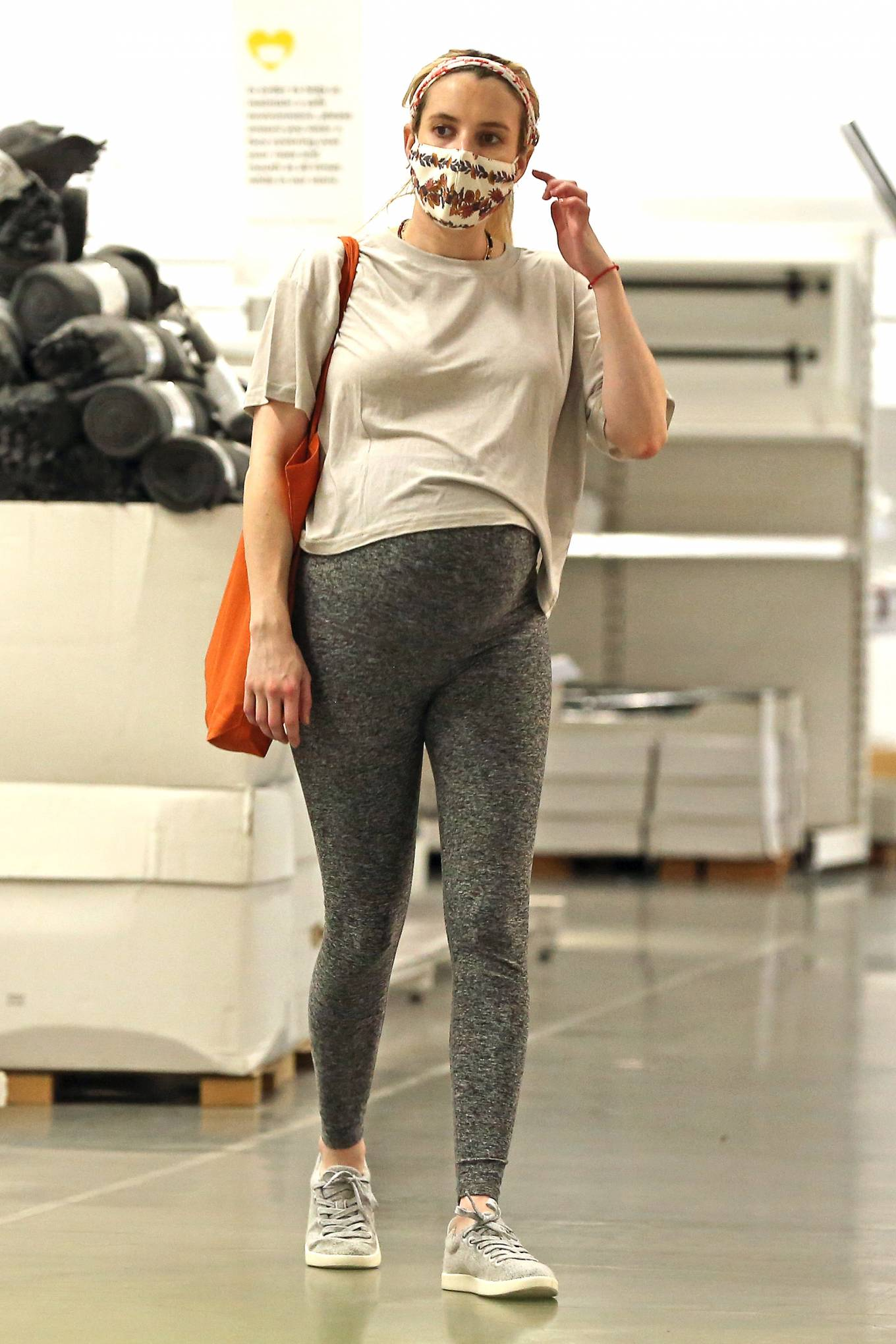 Emma Roberts - Shopping candids at Ikea in Los Angeles