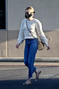Emma Roberts - Shopping candids in Los Angeles