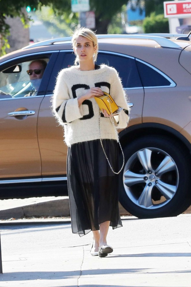 Emma Roberts Shopping in LA