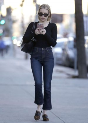 Emma Roberts - Shopping in West Hollywood
