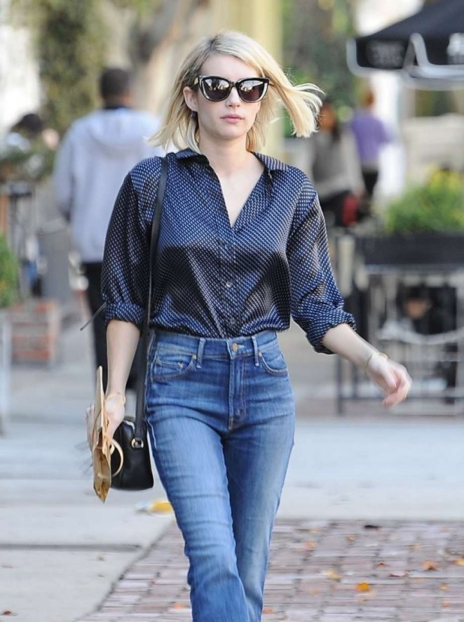 Emma Roberts Shopping on Melrose