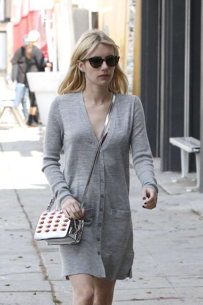 Emma Roberts Shopping out in Los Angeles