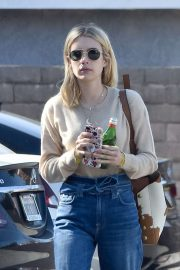 Emma Roberts - Spotted heading to a meeting in Hollywood