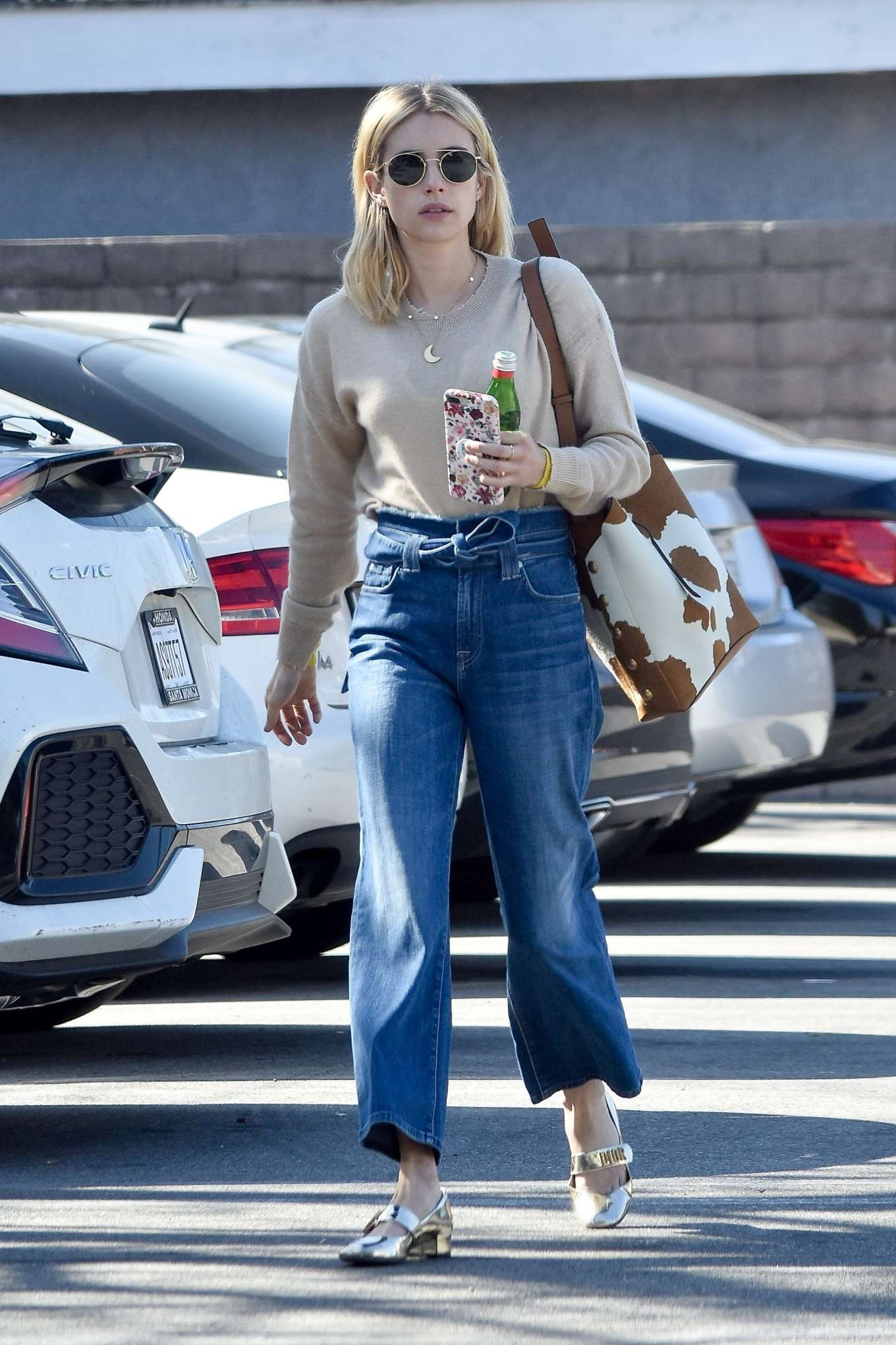Emma Roberts 2020 : Emma Roberts – Spotted heading to a meeting in Hollywood-04