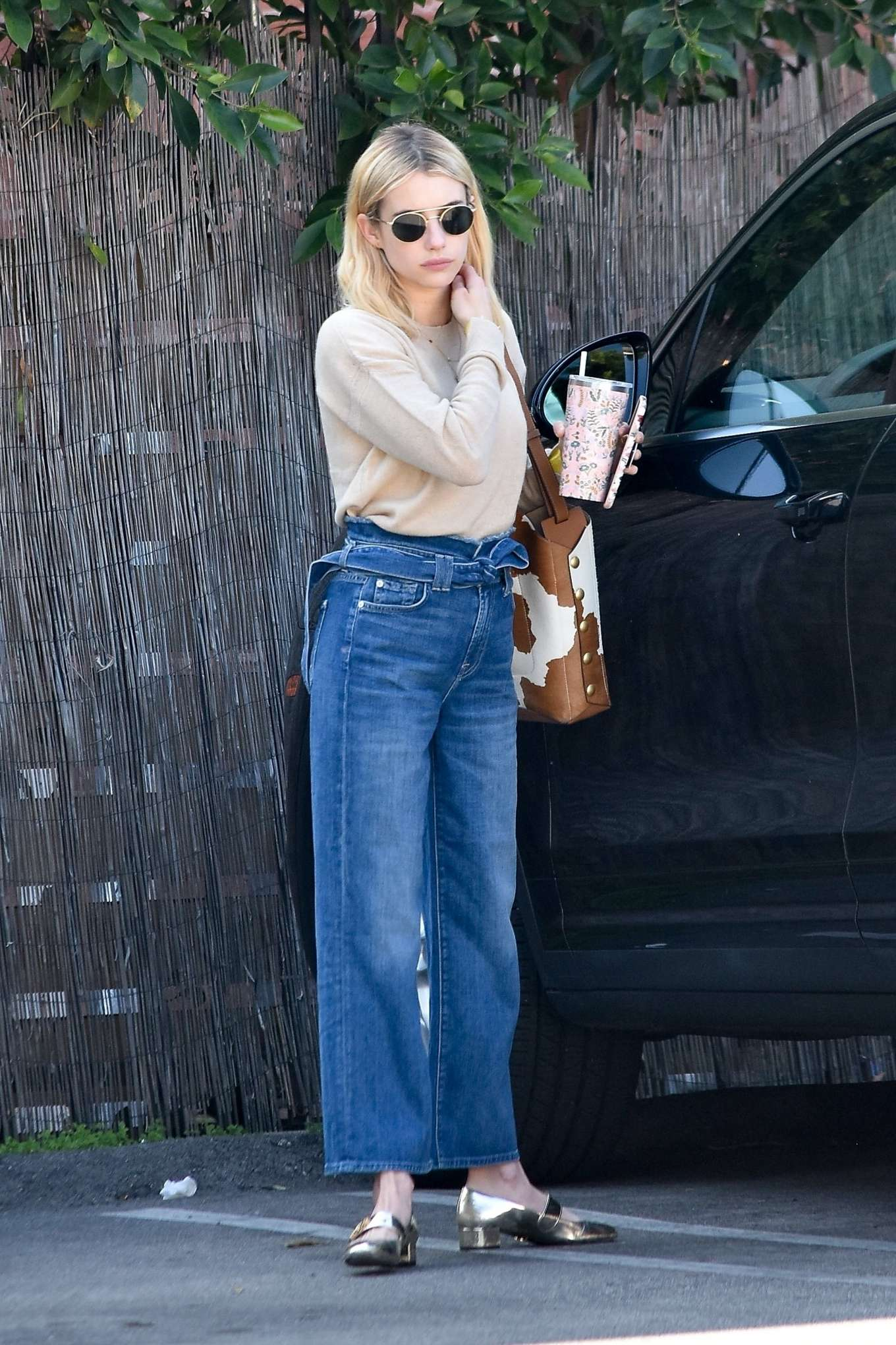 Emma Roberts 2020 : Emma Roberts – Spotted heading to a meeting in Hollywood-12