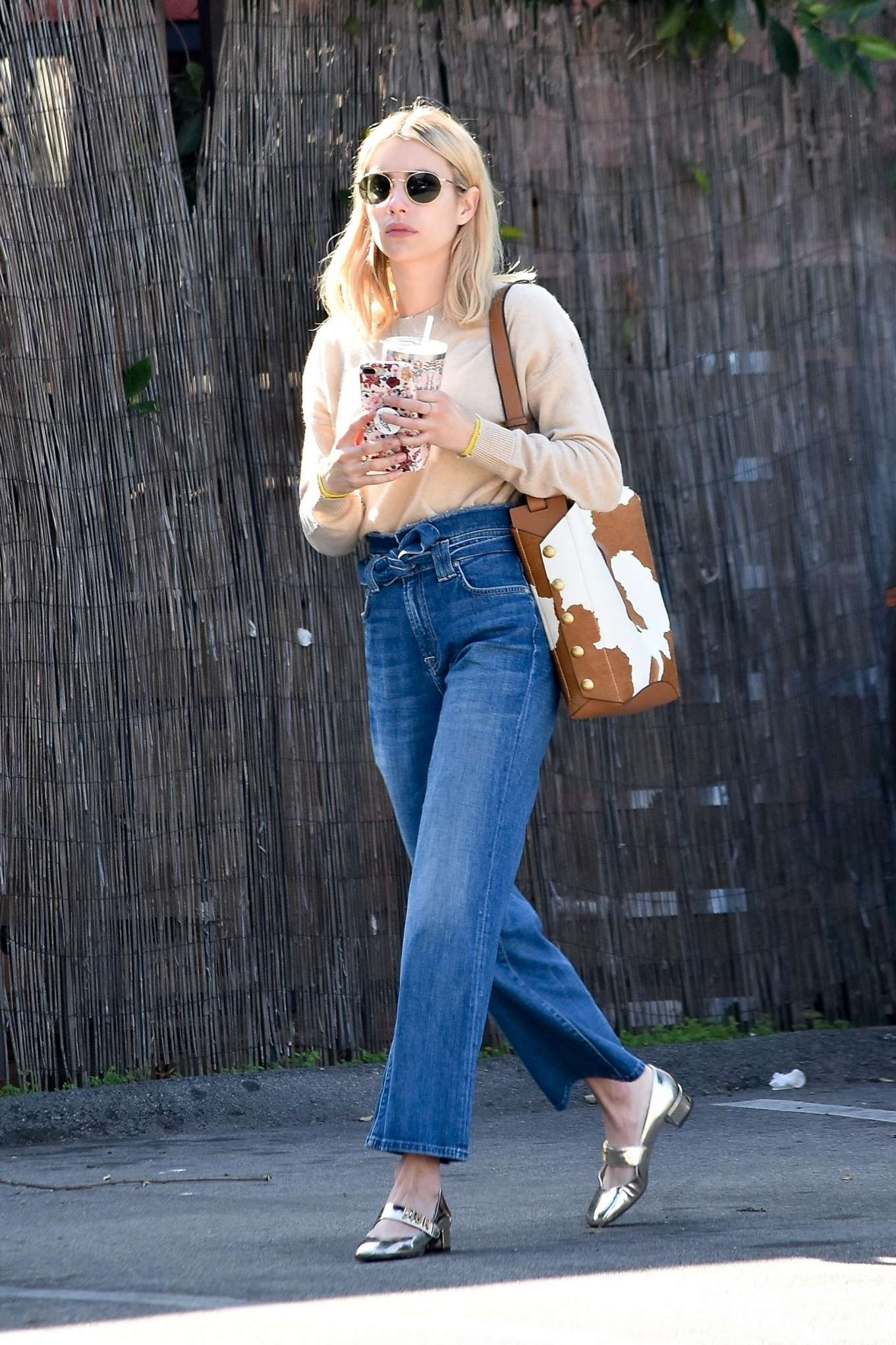 Emma Roberts 2020 : Emma Roberts – Spotted heading to a meeting in Hollywood-15