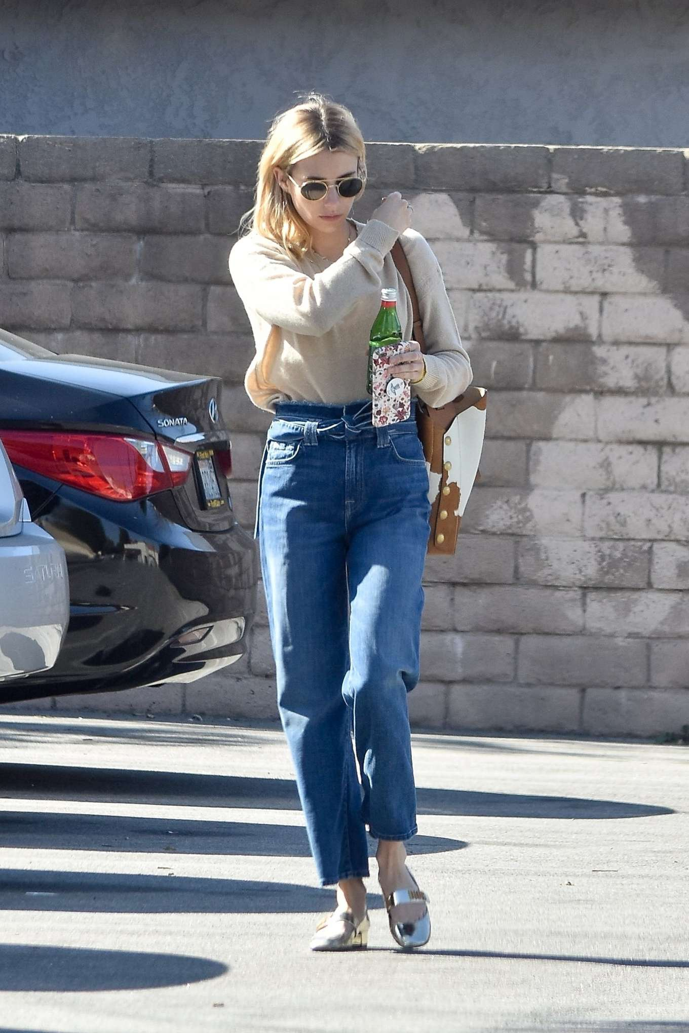 Emma Roberts 2020 : Emma Roberts – Spotted heading to a meeting in Hollywood-16